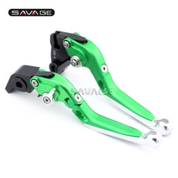 $enCountryForm.capitalKeyWord UK - Brake Clutch Lever For KAWASAKI ZX10R ZX-10R NINJA 2016-2017 Motorcycle Accessories Adjustable Folding Extendable