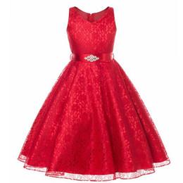 OLEKID 2019 Summer Girl Party Dress Brand Sleeveless Mesh Lace Girls  Wedding Princess Dress 3-12 Years Kids Teenagers Dress 5fbd3df1f8e8