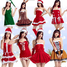 elk clothes Australia - Clothing Nightclub Ds Take Christmas Party Clothes Lovely Elk Pretend Undergarment Covering The Chest And Abdomen Skirt