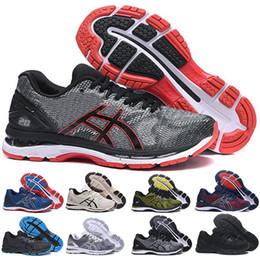 c16419f31 ASICS GEL-Nimbus 20 Originals Zapatillas de running para hombre Vermeil verde  oliva T800N-4949 Sport Designer Sneakers Zapatillas de running Entrenador  para ...
