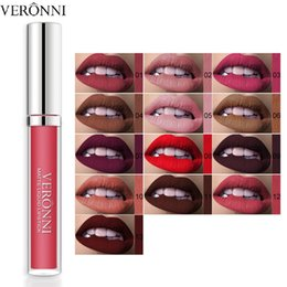$enCountryForm.capitalKeyWord Australia - 13colors Waterproof Matte Lipstick Moisturizer Smooth Lip Stick Long Lasting Lip Gloss Cosmetic Makeup Velvet Lipgloss