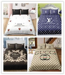 King size bedding for online shopping - 2019 Bed AB Side bedding sets Set Duvet Cover Set Queen Twin King Size Christmas gifts For Home