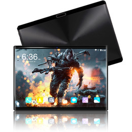 3g phablet tablet pc Australia - Hot 10 inch Tablet PC 3G 4G LTE FDD phablet Android 8.0 Octa Core 6GB+64GB 1280*800 IPS Tempered screen Tablets free shipping