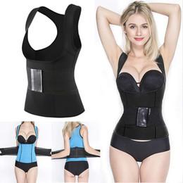 5de45070d0 Neoprene Slimming Vest Australia - Neoprene Sweat Sauna Body Hot Shapers  Vest Waist Trainer Slimming Vest