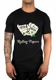 $enCountryForm.capitalKeyWord Australia - Rolling Papers Graphic T-Shirt Wiz Khalifa Taylor Gang We Dem Boyz Loud Gift s T Shirt Summer O Neck 100% Cotton cheap wholesale