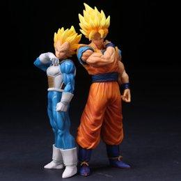 Toys & Hobbies Dragon Ball Z Goku Super Saiyan Awakening Gohan Father Trunks Vegeta Pvc Anime Figure Dbz Collection Model 17cm