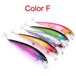 $enCountryForm.capitalKeyWord NZ - New 5 Colors Plastic 6# 3 Hooks Minnow Fishing Lure 12.5cm 17g Big Deep Sea Bass Crankbait Artificial Wobbler