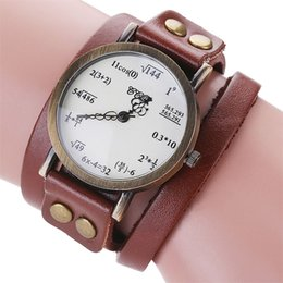 $enCountryForm.capitalKeyWord Australia - Aimecor Women's Watch Fashion Simple Figures Bracelets For Women Leather Strap Casual Analog Quartz Bracelet Watch