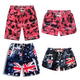 1f515fe7193d7 New Beach Shorts Men Women Printed Couple Swimwear Quick Dry Elastic Swim  Trunks Summer Beach Swimming Briefs Men Swim Shorts