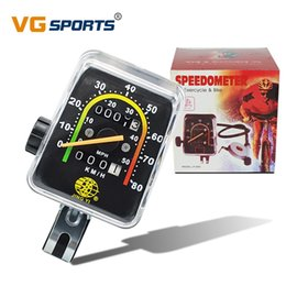 cycling computer stopwatch 2019 - Bicycle Computer Mechanical Classic Retro bike accessories cycling odometer stopwatch Wired waterproof speedometer cyclo