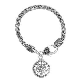 Native American Charms Australia - Fishhook Handmade Heart of Truth Yoga Satya Pewter Pendant Hindu Pagan Honesty Bracelet Native American Indian JewelryAntique Silver color W
