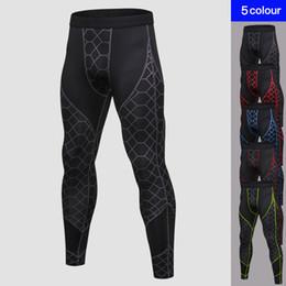 Tight Leggings Australia - 2018 Quick Dry Compression Pants Men High Elastic Jogger Pants Men Outdoor Sporting Tight Gyms Trousers Mens Fitness Leggings