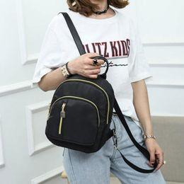 Bag Brands Korea Australia - New Women Backpacks Vintage South Korea Brand Design Bag Travel Casual Female Nylon High Quality Small Rucksack ZZL188 #139906