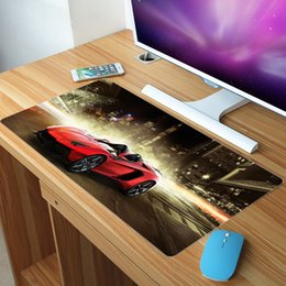 Race caR games online shopping - FFFAS x30cm Big XXL Size Mouse Pad Sports Car Roadster Bus Cycle Racing Super Mousepad Home Office Keyboard Game Gaming XL Mat
