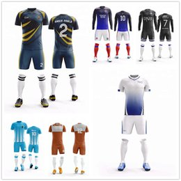 ed3e8222a Men s blank v neck short sleeve soccer jerseys men football jerseys adult plain  soccer uniforms customize any logos Futbol kits