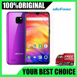 ulefone smartphone NZ - Brand New Original Ulefone Note 7 Smartphone 3500mAh 19:9 Quad Core 6.1'' Waterdrop Screen 16GB ROM Mobile phone WCDMA Cellphone Android8.1