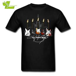 $enCountryForm.capitalKeyWord NZ - Signature Series Guitar T Shirt Guys Latest Tshirts Cool Customized Loose T-Shirts Men's Summer Round Neck Cheap Teenboys