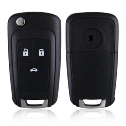 Wholesale Replacement Shell Flip Folding Remote Key Case for OPEL VAUXHALL Insignia Astra Button HU100 Uncut Blade no Logo hot selling