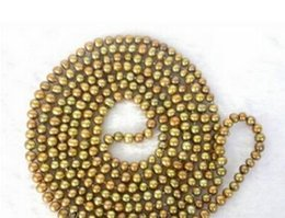 "coffee pearl Australia - necklace Free shipping +++BEAUTIFUL 80"" 8mm coffee round freshwater real pearls necklace"