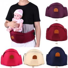 Toddler Carry Australia - Baby Waist Stool Walker Adjustable Infant Toddler Front Carrier Backpack Kids Sling Hold Hot Hip Seat Belt Q190529