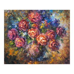 "impressionist sunflower paintings Australia - 48""x72"" Restaurant hand-painted oil painting porch hanging painting modern simple European decorative painting sunflower flower still life"