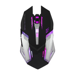 $enCountryForm.capitalKeyWord UK - Wired Gaming Mouse Silent Optical 2400DPI USB Mouse Colorful Backlight Gamer For Computer Laptop LHY Sale