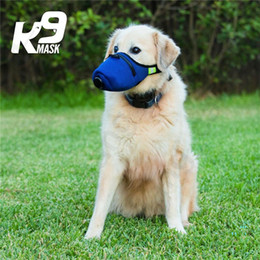 Discount n95 dust masks Dog Soft Cotton Mouth Masks Pet Respiratory N95 Filter Anti Dust Gas Pollution Muzzle Anti-fog Haze Protective Mask Cove