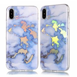 $enCountryForm.capitalKeyWord Australia - Luxury Designer Marble Patterned Rose Gold Phone Case for Iphone X Xs Max Xr 8 7 6 6s Plus Samsung Galaxy S9 S8 Plus S7 Edge Note 9 Cover