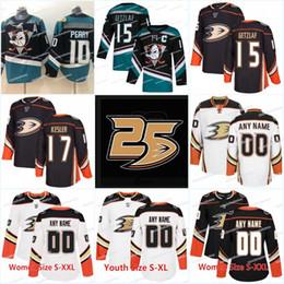 0ec4417e1 25th Anaheim Ducks Jersey 15 Ryan Getzlaf 17 Ryan Kesler 67 Rickard Rakell 10  Corey Perry 7 Andrew Cogliano Hockey Jerseys