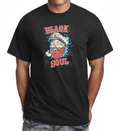 $enCountryForm.capitalKeyWord Australia - Black Soul Cool T-Shirt Tee Top Great Birthday Gift Present Idea Tees Shirt Men Male Artist Short Sleeve Crewneck Cotton 3XL Couple T-shirts