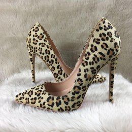 toe hair NZ - NEWEST sexy girls Free Shipping horse hair point toe Stiletto Heels High Heels Shoes pumps