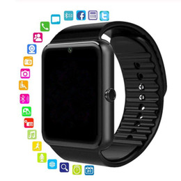 bluetooth smart watch sim Australia - Christmas Gift Smart Watch for kids Clock With Sim Card Slot Push Message Bluetooth Connectivity Android Phone Smartwatch1pcs lot