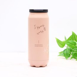 $enCountryForm.capitalKeyWord NZ - Stainless Steel Double Wall Water Bottle 17oz Vacuum Insulated Water Bottle Fashion Large Capacity Tumbler Outdoor Travel Car Mug BC BH1502