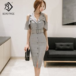 $enCountryForm.capitalKeyWord NZ - 2018 Spring And Summer New Arrival Women Dresses Casual Patchwork Shrapnel Butterfly Shell Sexy Y19070901