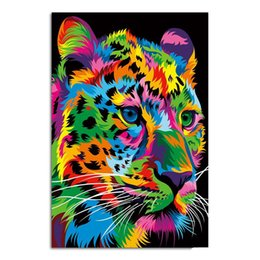 $enCountryForm.capitalKeyWord Australia - 1 Pcs Canvas Art Painting Fast And Focused Cheetah HD Printed Wall Art Home Decor Poster Picture for Living Room