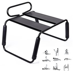 sexual chairs Australia - Metal Frame Sex Chair Female Masturbation Intimacy Toys Sex Furniture Sexual Behavior Intimate Relationship for Couples E5-7