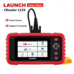 EnginEs transmissions online shopping - LAUNCH X431 CRP123X OBD2 Code Reader for Engine Transmission ABS SRS Diagnostics with AutoVIN Service Lifetime Free Update