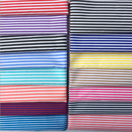 Clothe Opening Australia - Striped polyester fabrics, printed polyester fabrics, ladies dresses, shirts, striped clothing bags lining, curtain tablecloth accessories