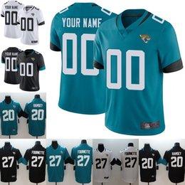ac137a0aa3b Custom 20 Jalen Ramsey Jacksonville Jersey Jaguars 27 Leonard Fournette 7 Nick  Foles Football Jerseys Embroidery Stitched