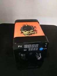 $enCountryForm.capitalKeyWord Australia - New Menovo Electric Titainium Enail Dab Nails Rig Oil Wax Dabbing PID TC Box With Domeless Coil Hele Temperature Controller Rig glass Bongs