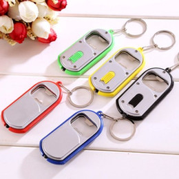 $enCountryForm.capitalKeyWord Australia - CREATIVE MINI WINE BEER BOTTLE OPENER LIGHT KEYCHAIN KEYRING TOP CUTE CHARM KEY CHAIN KEY RING LOVELY KEYS GADGET ACCESSORIES