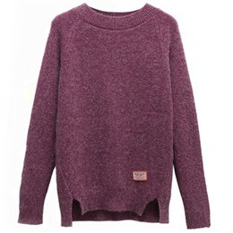 $enCountryForm.capitalKeyWord Australia - 2019 B1745 Spring Autumn New Women Han Edition Fashion Joker Pure Color Short Paragraph Sweater Cheap Wholesale