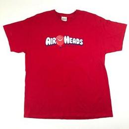 $enCountryForm.capitalKeyWord Australia - Airheads Out of Control Mens XL Cotton Red Tee T Shirt Balloon Crew NePrint Candy