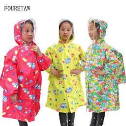$enCountryForm.capitalKeyWord Australia - 1-6 years old fashion unisex waterproof kids boys girls jumpsuit raincoat hooded One-Piece Cartoon Hooded children Raincoat Suit