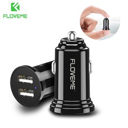Rohs Charger Australia - Car Charger For Phone Mini Dual Usb Car-charger 2.4a Fast Charger For Iphone 7 8 X Xs Xiaomi Universal Car Phone Charger