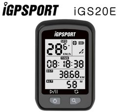 Waterproof Bicycle Mount Australia - iGPSPORT iGS20E Cycling GPS Bicycle Computer Waterproof Enabled Mount holder Road MTB Bike Price PK Edge 200 Bryton Rider310 #309352