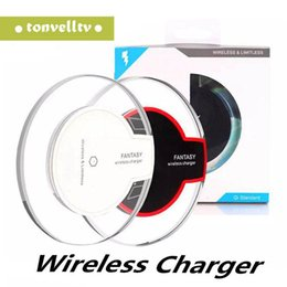 Lg nexus wireLess charger online shopping - Universal Qi Wireless Charger Pad Tablet Crystal Dock Charging For iPhone X Samsung S8 Note LG Nexus Nokia HTC LG With Retail Box