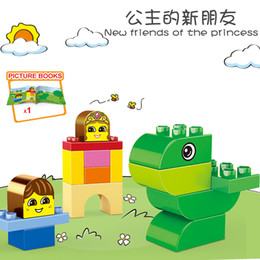 variety blocks UK - Diy variety of block assembling collocations for children Creativing intelligence cute animal set model building blocks for kids