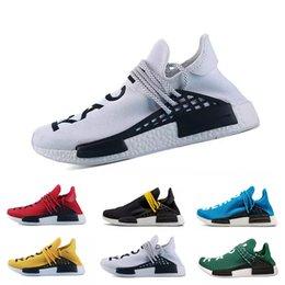ad3a4cf358e29 Green Nerd Heart Mind Human Race Running Shoes Homecoming Solar PacK  pharrell williams Hu trail trainers Men Women runner Sports sneakers