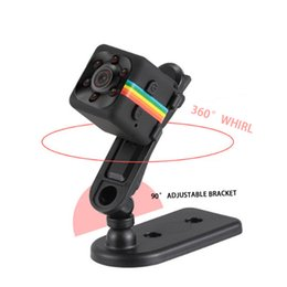 sharp mini camera UK - OEM MINI bracket portable 1080P HD night vision camera infrared sports DV computer camera SD card camera